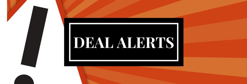Get Deal Alerts