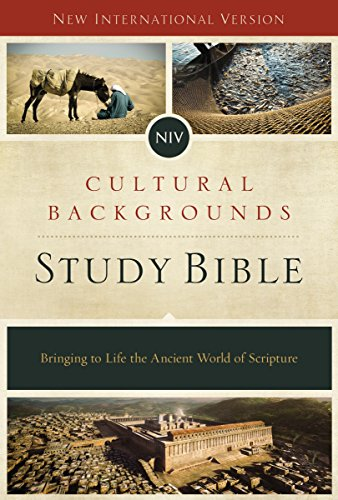 NIV, Cultural Backgrounds Study Bible