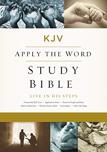 KJV, Apply the Word Study Bible, Ebook, Red Letter Edition Live in His Steps