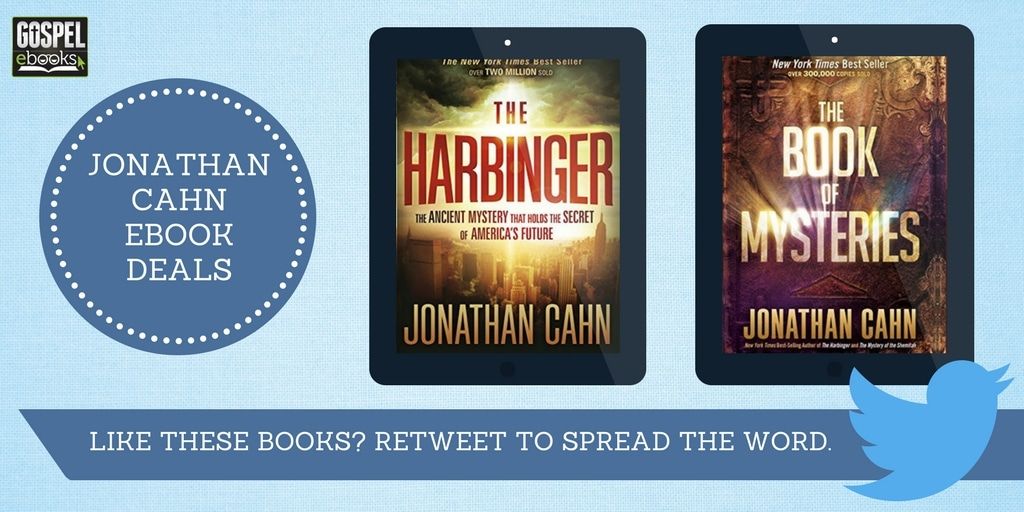 Two Jonathan Cahn E-Books | Gospel eBooks