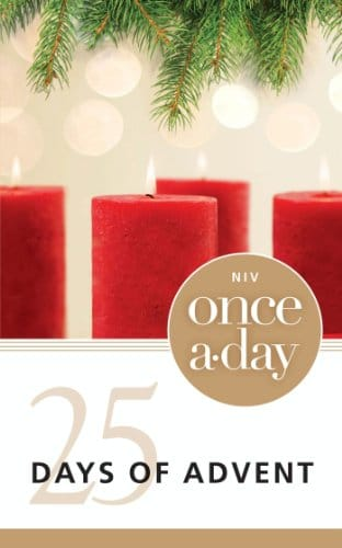 NIV, Once-A-Day 25 Days of Advent Devotional