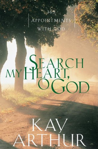 search my heart o God