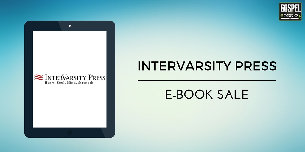 IVP E-Book Sale: Nov 7/19