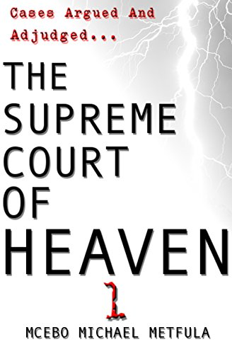 Testimonial Mcebo Metfula, author of The Supreme Court of Heaven